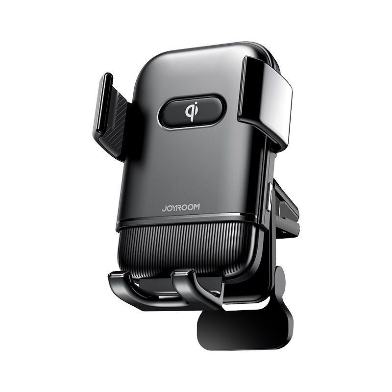 JOYROOM JR-ZS216 Triaxial Air Vent 15W Wireless Autós Töltő és Tartó - Fekete