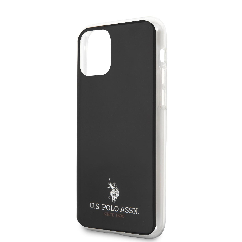 Apple iPhone 12 Mini U.S.Polo USHCP12STUHRBK Hátlap - Fekete