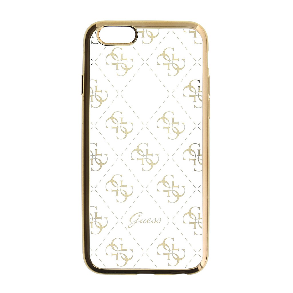 Apple iPhone 5/5S/SE GUESS GUHCPSETR4GG Hátlap - Arany
