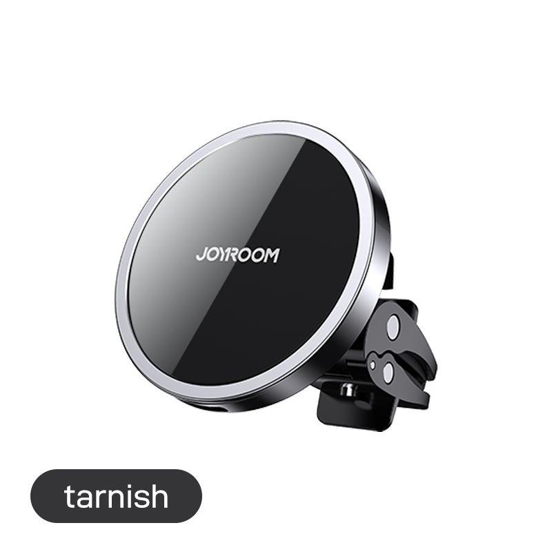 JOYROOM JR-ZS240 Magnetic Air Out 15W Wireless Autós Töltő és Mágneses Tartó - Fekete