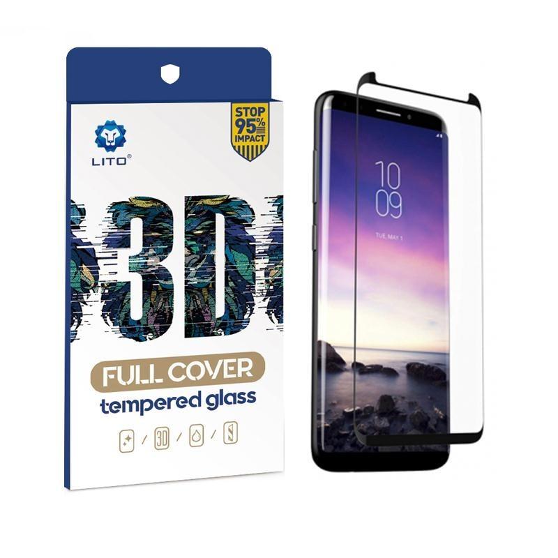 Honor V40 5G Lito 3D Full Üvegfólia - Fekete