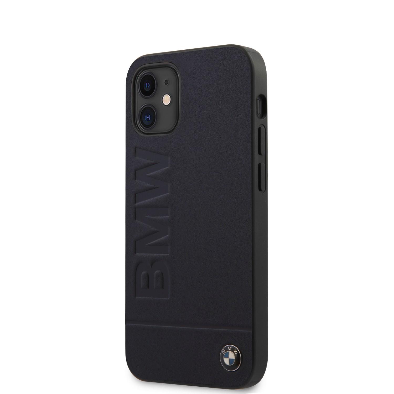 Apple iPhone 12 Mini BMW BMHCP12SSLLNA Hátlap - Fekete