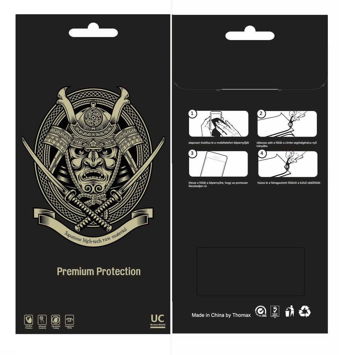 Apple iPhone 5/5C/5S/SE Kijelzővédő Fólia Clear