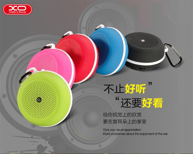 XO F1 Outdoor Mini Bluetooth Hangszóró - Zöld