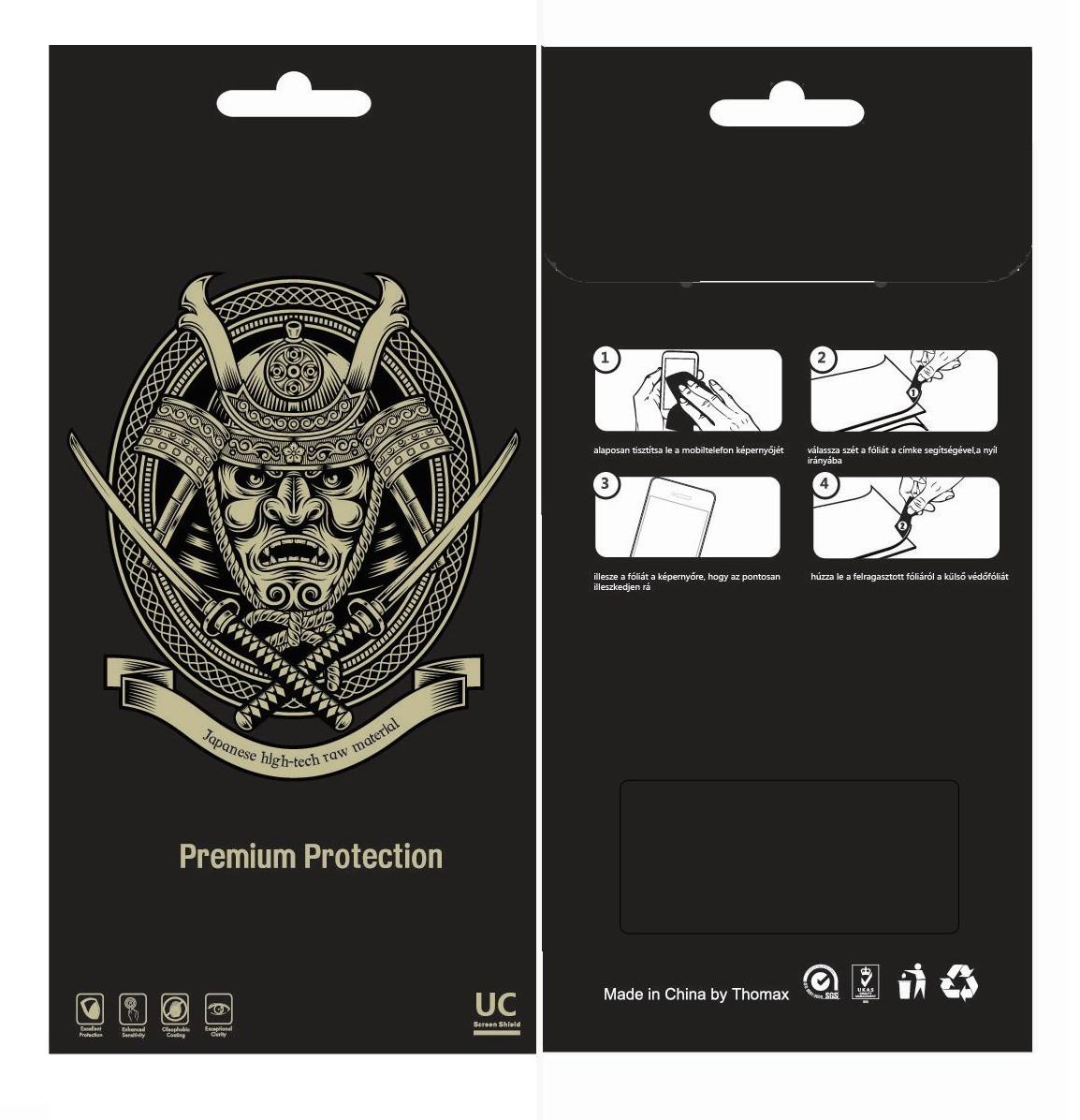 Apple iPhone 4/4S 2in1 Kijelzővédő Fólia Clear