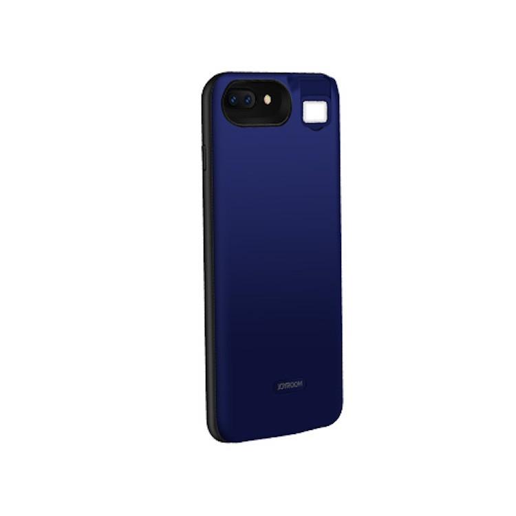 Joyroom D-M185 Apple iPhone 7/8 Plus Beauty 4000 mAh Powerhátlap - Kék