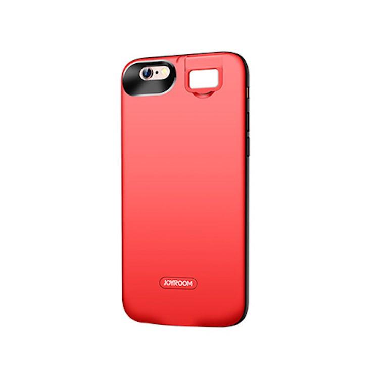 Joyroom D-M184 Apple iPhone 7/8 Beauty 3000 mAh Powerhátlap - Piros