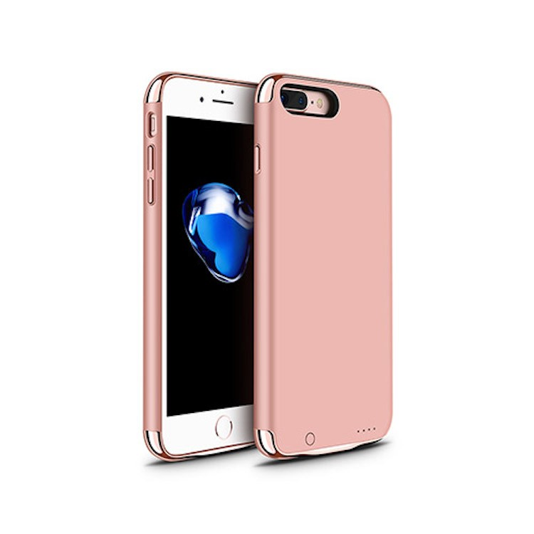 Joyroom D-M143 Apple iPhone 7/8 Plus 3500 mAh Powerhátlap - Rose Gold