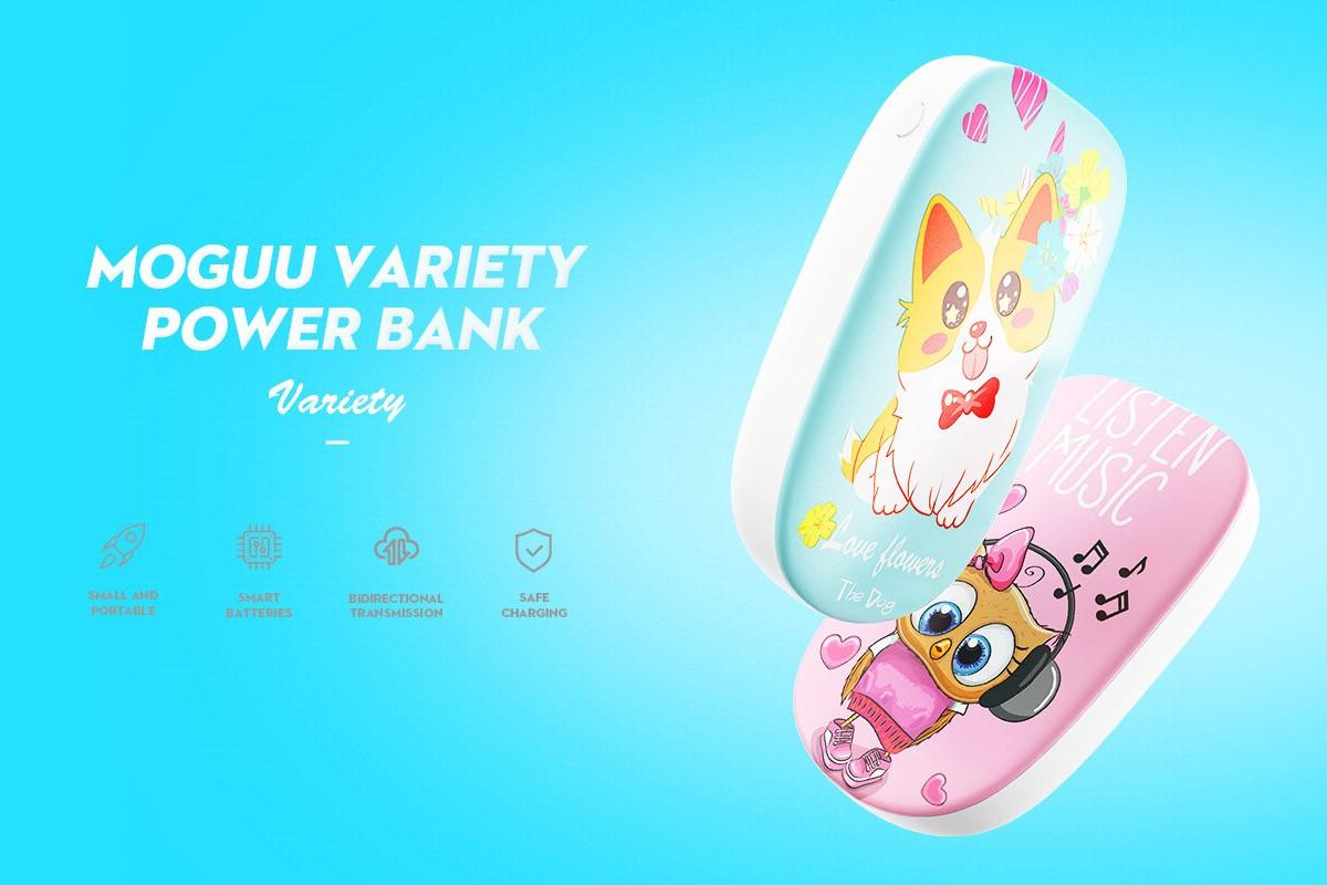 Joyroom/Moguu MGD-003 Variety 10000 mAh Powerbank - Kutya