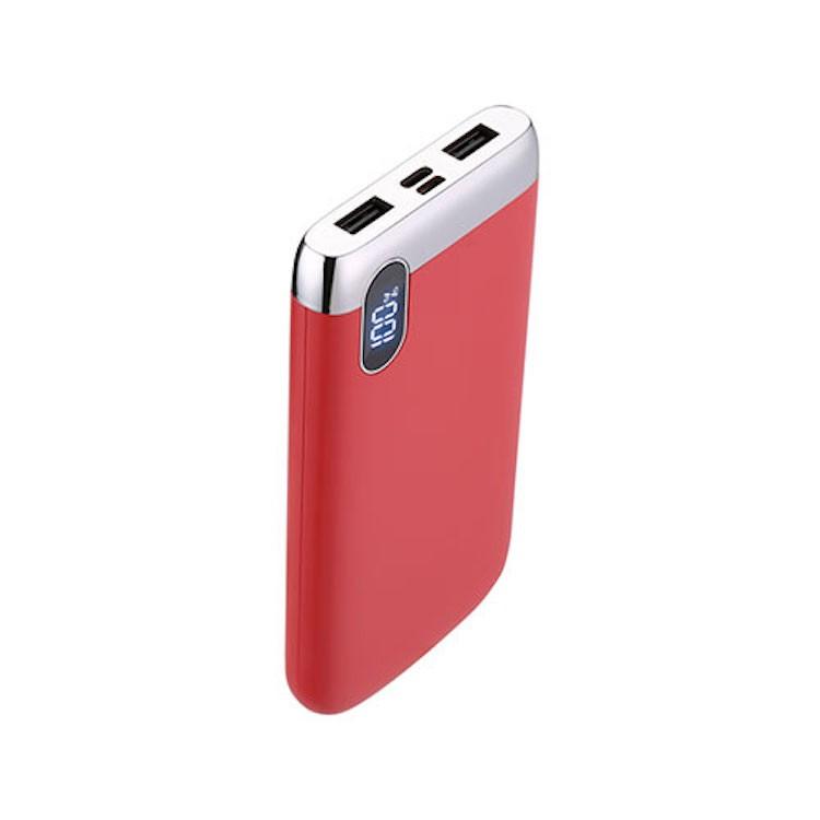 Joyroom D-M194 Elegance 10000 mAh Powerbank - Piros
