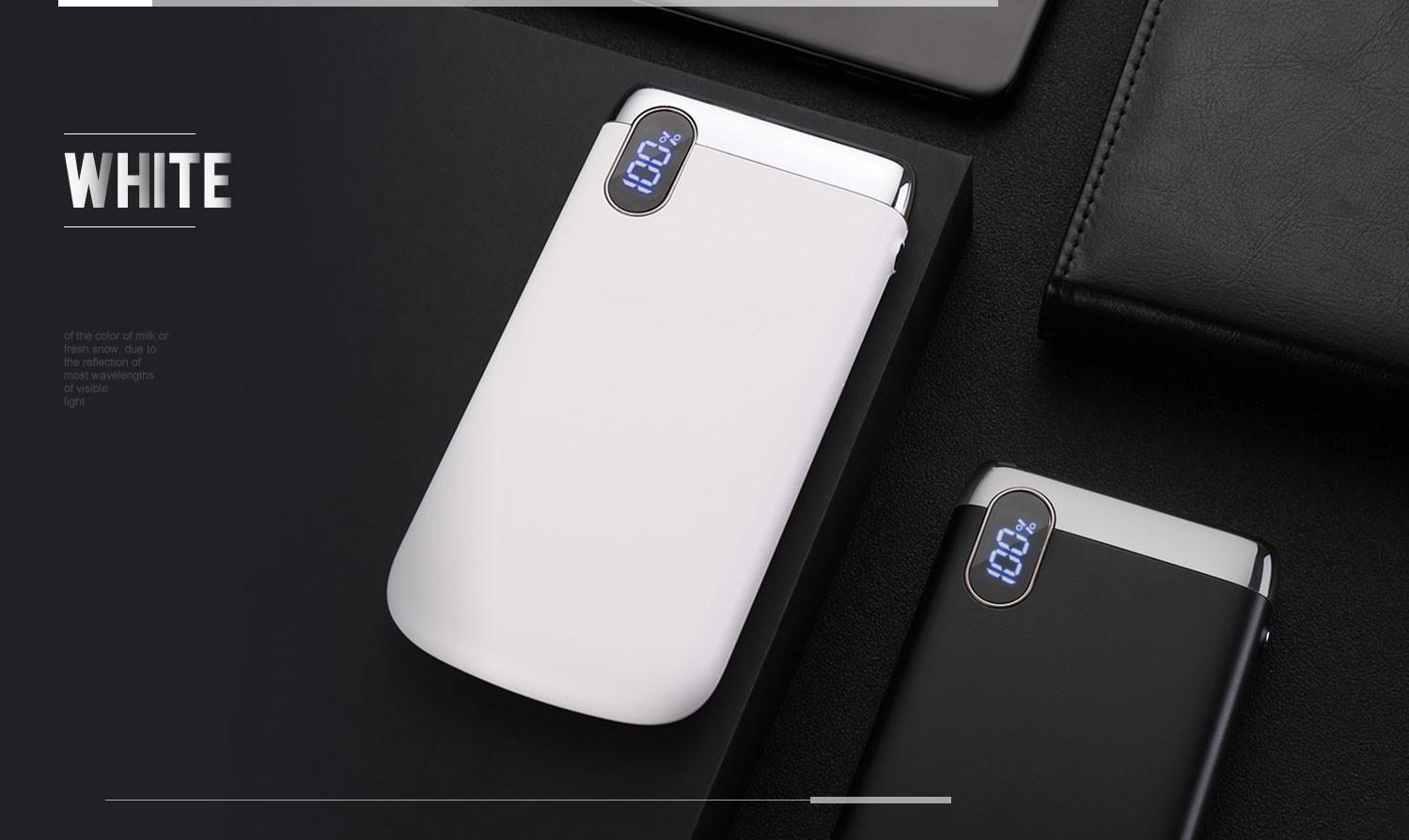 Joyroom D-M194 Plus Elegance 20000 mAh Powerbank - Fehér